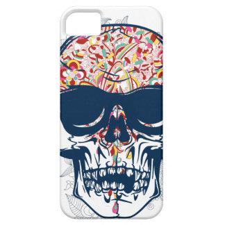 Capa Barely There Para iPhone 5 design colorido do crânio zombi inoperante