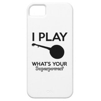 Capa Barely There Para iPhone 5 design do banjo