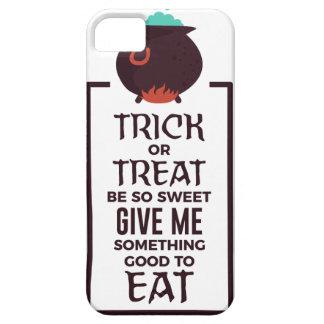 Capa Barely There Para iPhone 5 Design doce do Dia das Bruxas dos doces da doçura