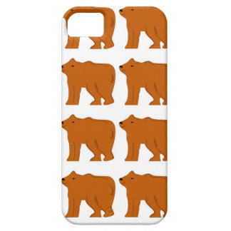 Capa Barely There Para iPhone 5 Design dos ursinhos no branco