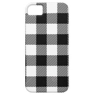 Capa Barely There Para iPhone 5 Design exterior preto e branco da arte do teste