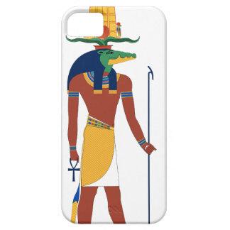 Capa Barely There Para iPhone 5 Deus do crocodilo de Sobek