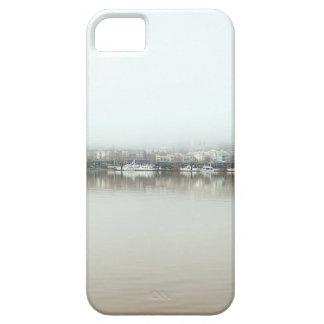 Capa Barely There Para iPhone 5 Dia nevoento no beira-rio de Portland OU de centro