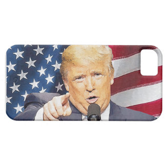Capa Barely There Para iPhone 5 Donald Trump