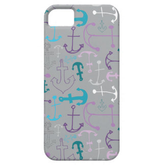 Capa Barely There Para iPhone 5 Doodles da âncora