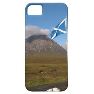 Capa Barely There Para iPhone 5 duas bandeiras de Scotland