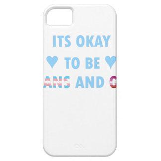 Capa Barely There Para iPhone 5 É aprovado ser o transporte e o gay (v3)