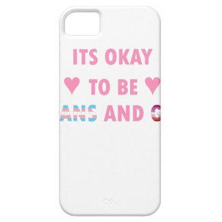 Capa Barely There Para iPhone 5 É aprovado ser o transporte e o gay (v4)