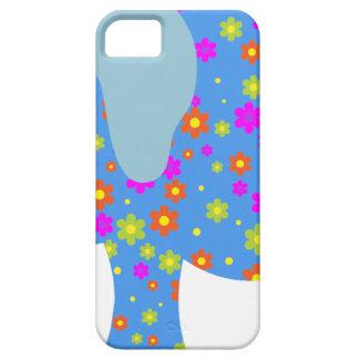 CAPA BARELY THERE PARA iPhone 5 ELEFANTE DO AZUL DAS BOLINHAS