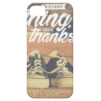 Capa Barely There Para iPhone 5 Em tudo dê obrigados