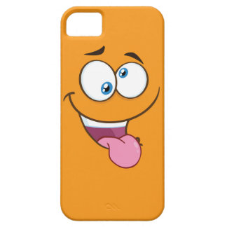 Capa Barely There Para iPhone 5 Emoji quadrado pateta parvo