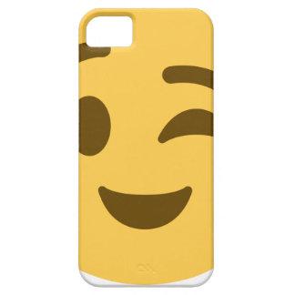 Capa Barely There Para iPhone 5 Emoji Wink