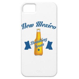 Capa Barely There Para iPhone 5 Equipe do bebendo de New mexico