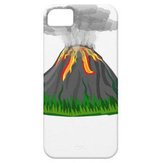 Capa Barely There Para iPhone 5 erupção e fogo do vulcão