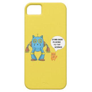 Capa Barely There Para iPhone 5 Esteja para trás indo tentar o gato engraçado do