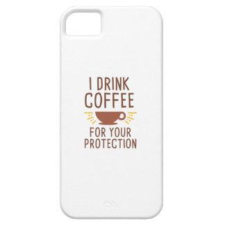 Capa Barely There Para iPhone 5 Eu bebo o café