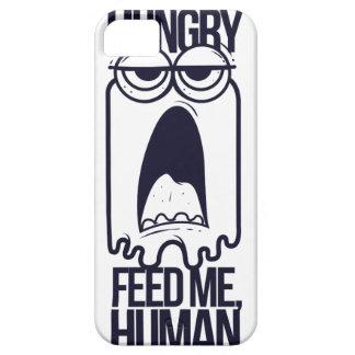 Capa Barely There Para iPhone 5 eu estou com fome alimento-me humano