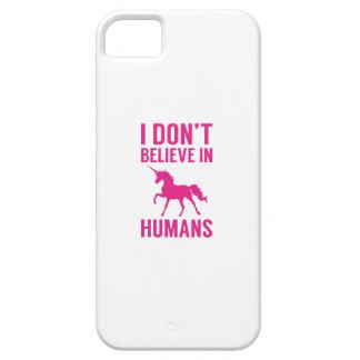 Capa Barely There Para iPhone 5 Eu não acredito nos seres humanos