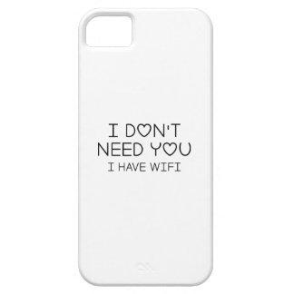 Capa Barely There Para iPhone 5 Eu tenho Wifi