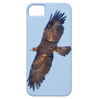 Capa Barely There Para iPhone 5 Exemplo da case mate do iPhone 5 de Eagle dourado