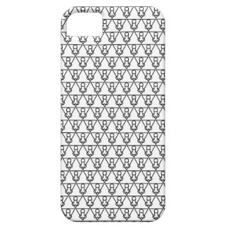 Capa Barely There Para iPhone 5 Falluminati Onix preto pelo lagarto de Umberto