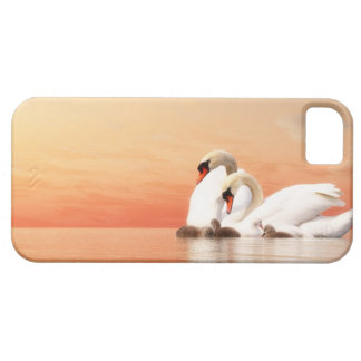 Capa Barely There Para iPhone 5 Família da cisne