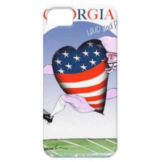 Capa Barely There Para iPhone 5 fernandes tony altos e orgulhosos de Geórgia,