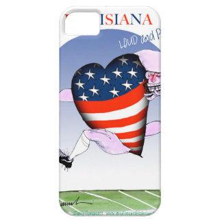 Capa Barely There Para iPhone 5 fernandes tony altos e orgulhosos de louisiana,