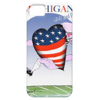 Capa Barely There Para iPhone 5 fernandes tony altos e orgulhosos de michigan,