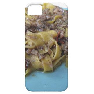 Capa Barely There Para iPhone 5 Fettuccine ou massa fresca italiana do tagliatelle