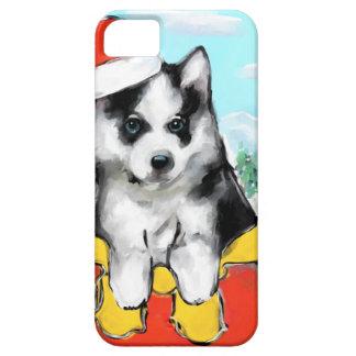 Capa Barely There Para iPhone 5 Filhote de cachorro do Malamute do Alasca