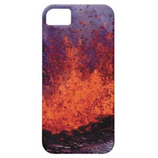 Capa Barely There Para iPhone 5 fissura da rachadura da lava