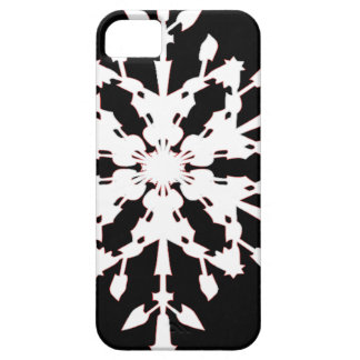 Capa Barely There Para iPhone 5 Floco de neve