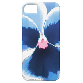 Capa Barely There Para iPhone 5 Flor azul 201711c do amor perfeito