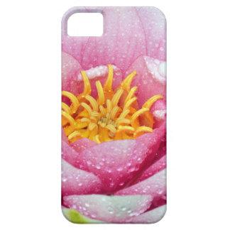 Capa Barely There Para iPhone 5 Flor cor-de-rosa do lírio de água