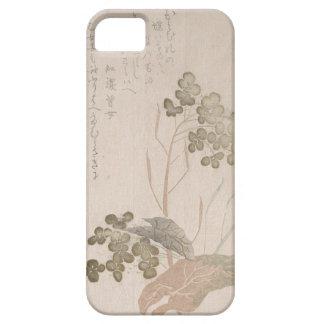 Capa Barely There Para iPhone 5 Flor de Natane - origem japonesa - período de Edo