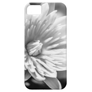 Capa Barely There Para iPhone 5 Flor preto e branco