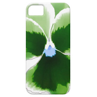Capa Barely There Para iPhone 5 Flor verde 201711d do amor perfeito