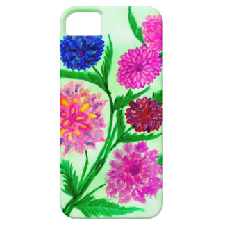 Capa Barely There Para iPhone 5 Flores coloridas 4