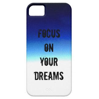 Capa Barely There Para iPhone 5 Foco em seu sonho