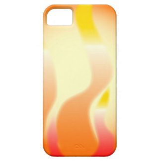 Capa Barely There Para iPhone 5 Fogo abstrato