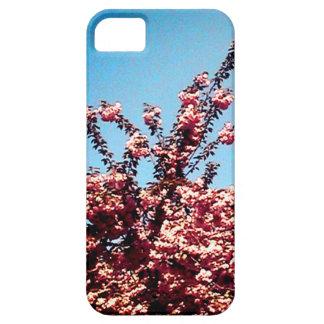 Capa Barely There Para iPhone 5 Folhas do céu azul e do rosa