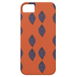 Capa Barely There Para iPhone 5 Folhas do design. Ethno dos elementos do design