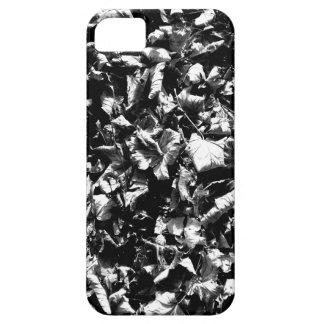 Capa Barely There Para iPhone 5 Folhas pretas & do branco