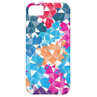 Capa Barely There Para iPhone 5 Formas 3D geométricas coloridas