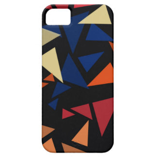 Capa Barely There Para iPhone 5 Formas geométricas coloridas