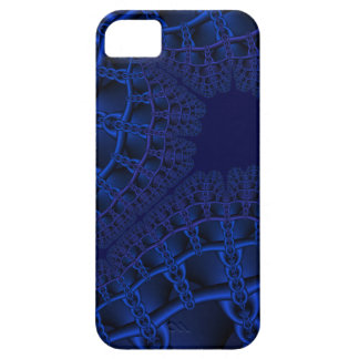 Capa Barely There Para iPhone 5 Fractal azul elétrico