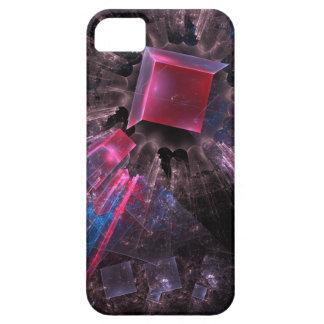 Capa Barely There Para iPhone 5 Fractal cor-de-rosa
