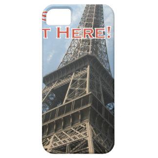 Capa Barely There Para iPhone 5 Francês do verão 2016 de Paris France da torre