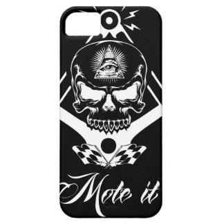 Capa Barely There Para iPhone 5 Freemason-Widows-Sons-Masonic-Hotrod-Logo-20160407